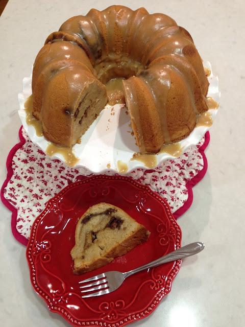 Southern Lady Apple Butter Pound Cake