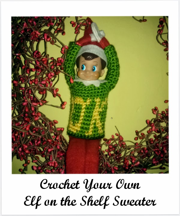 Niccupp Crochet: How to Crochet a Sweater for Your Elf