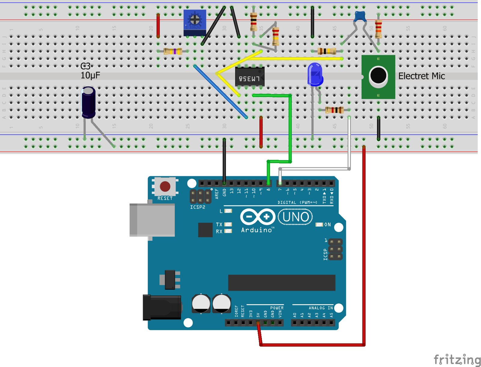 Internet of Things: High Sensitivity Arduino Sound Level Detector