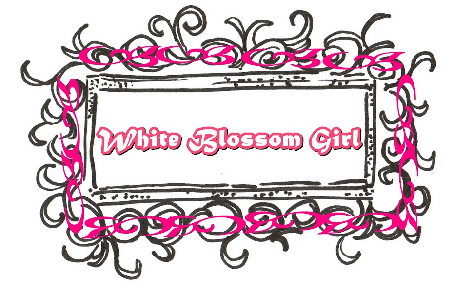 white blossom girl