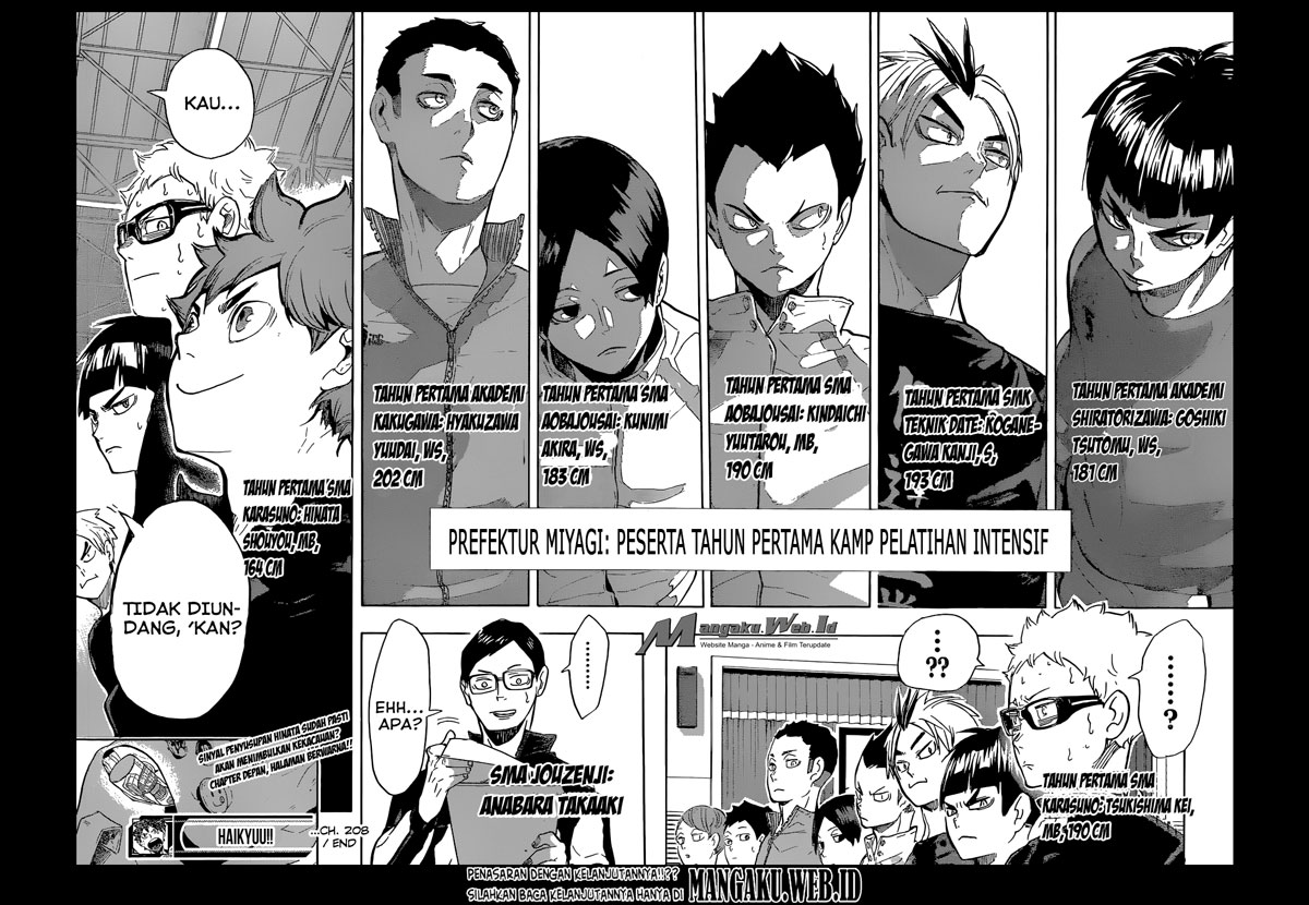 Haikyuu!! Chapter 208-17