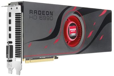 AMD выпустила двухядерную <b>видеокарту</b> Radeon HD 6990