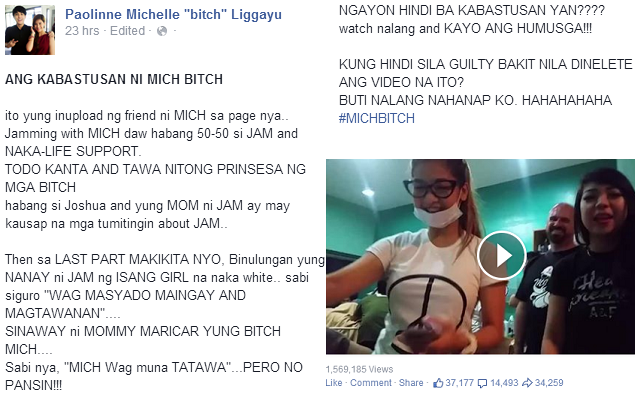 Mich Liggayu scandal videos go viral