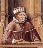 St. Augustine Teaching in Rome