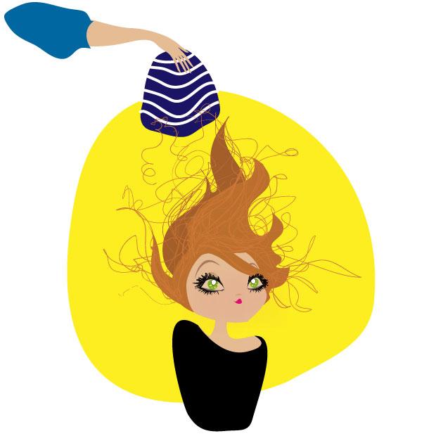 Madame truc maitriser les cheveux lectriques for Froid ventile ou statique