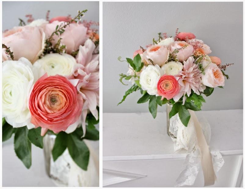 Rustic Blush Brides Bouquet For Dearborn Inn Detroit Wedding By Sweet Pea Floral Design Ranunculus Garden