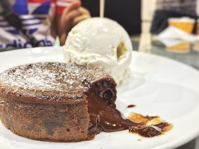320 Below at Tampines 1 - Chocolate Lava Cake With Vanilla Ice Cream 2