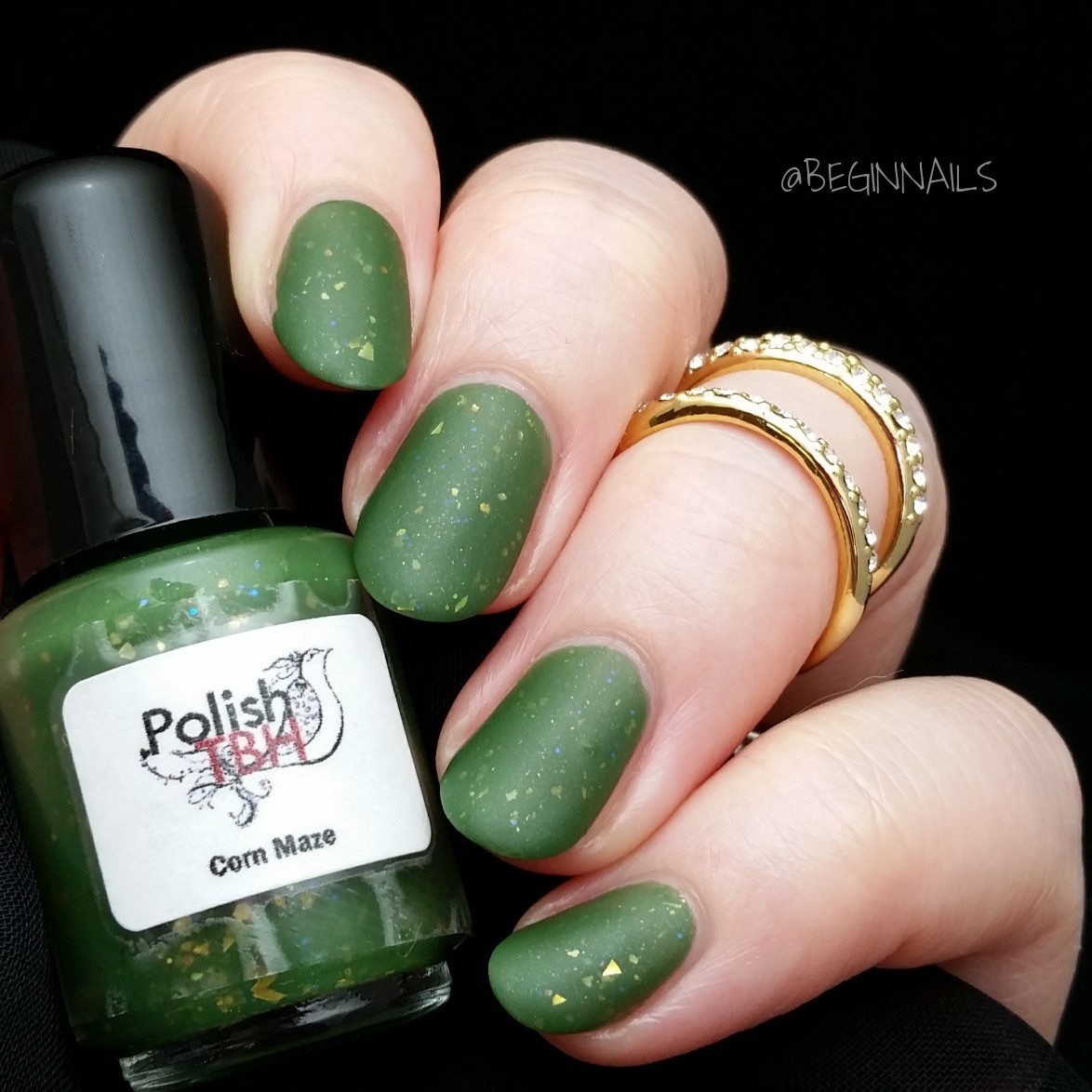 Let\'s Begin Nails: September Mani Of The Month Box Swatch and Review