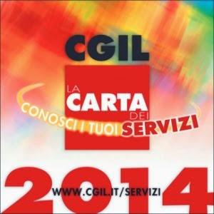 Carta dei servizi CGIL 2014