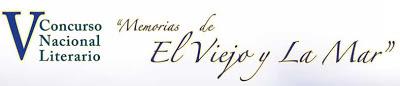 """Logo del Concurso Nacional Literario """"Memorias de El Viejo y La Mar"""""""