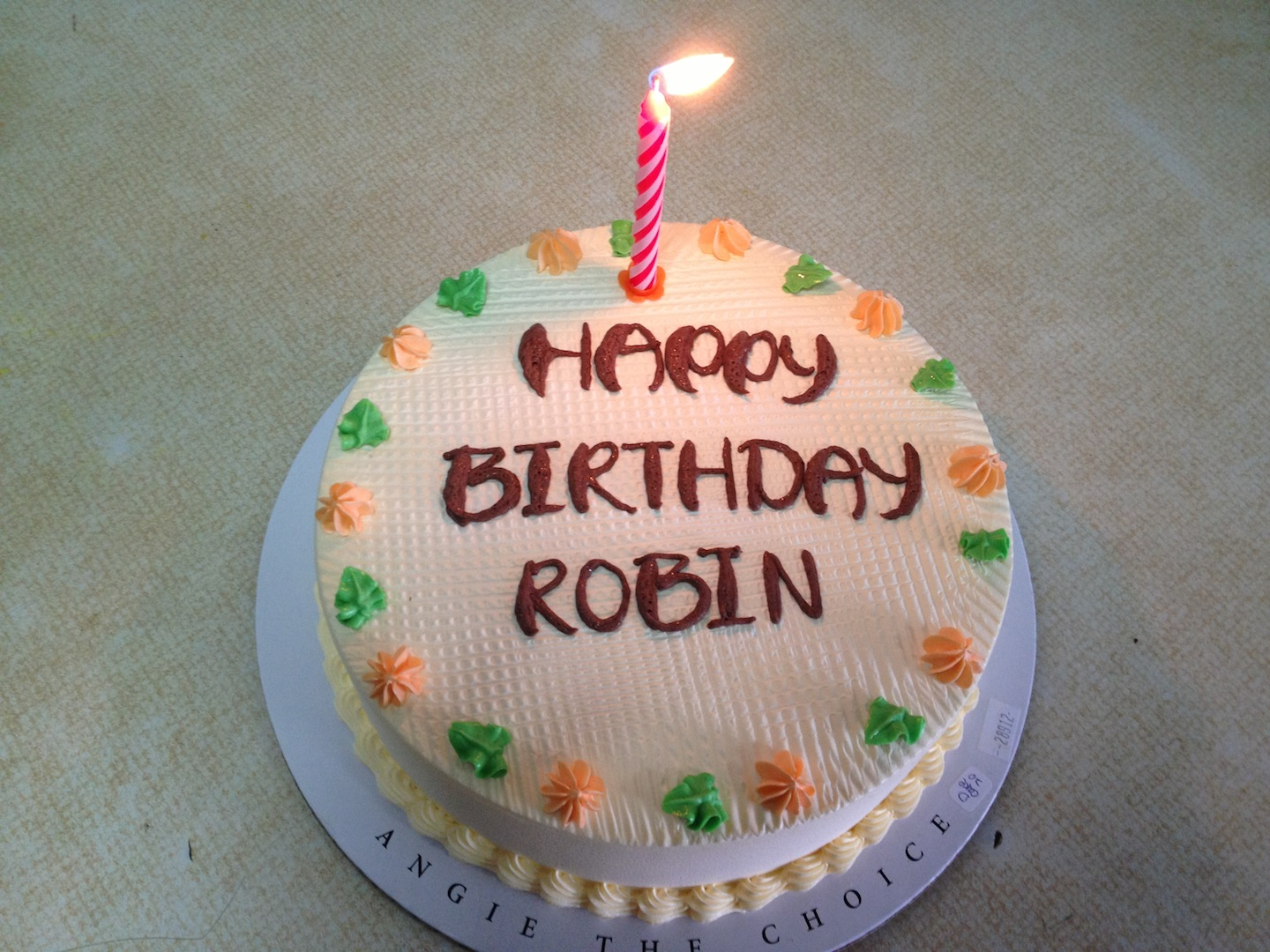 You Are Gonna Love Me Robins Birthday