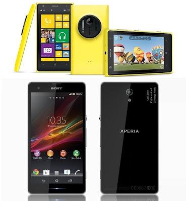Nokia Lumia 1020 VS Sony Xperia Honami i1, Nokia Lumia 1020, Sony Xperia Honami, new smartphone camera
