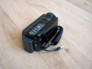De ingebouwde USB-kabel