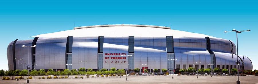 vista esterna dello stadio