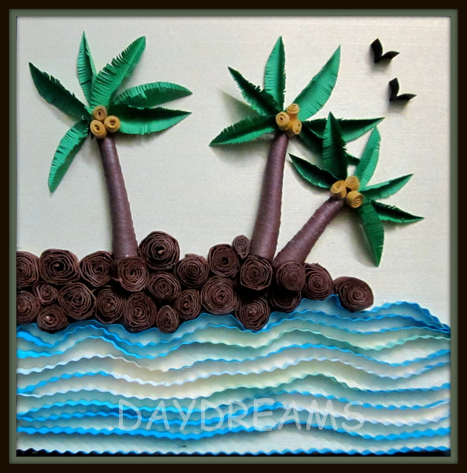 DAYDREAMS Quilled Scenery