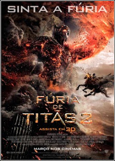 Download - Fúria de Titãs 2 DVDRip AVI Dual Áudio + RMVB Dublado