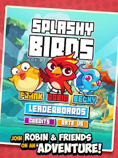 Game Splashy birds Terbaru