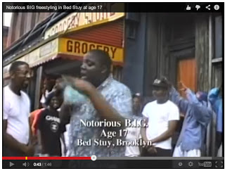 http://kottke.org/13/11/17-year-old-biggie-smalls-freestyling