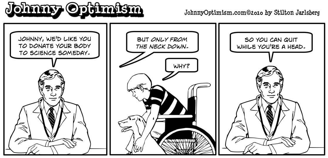 Johnnyoptimism, johnny optimism, organ donation