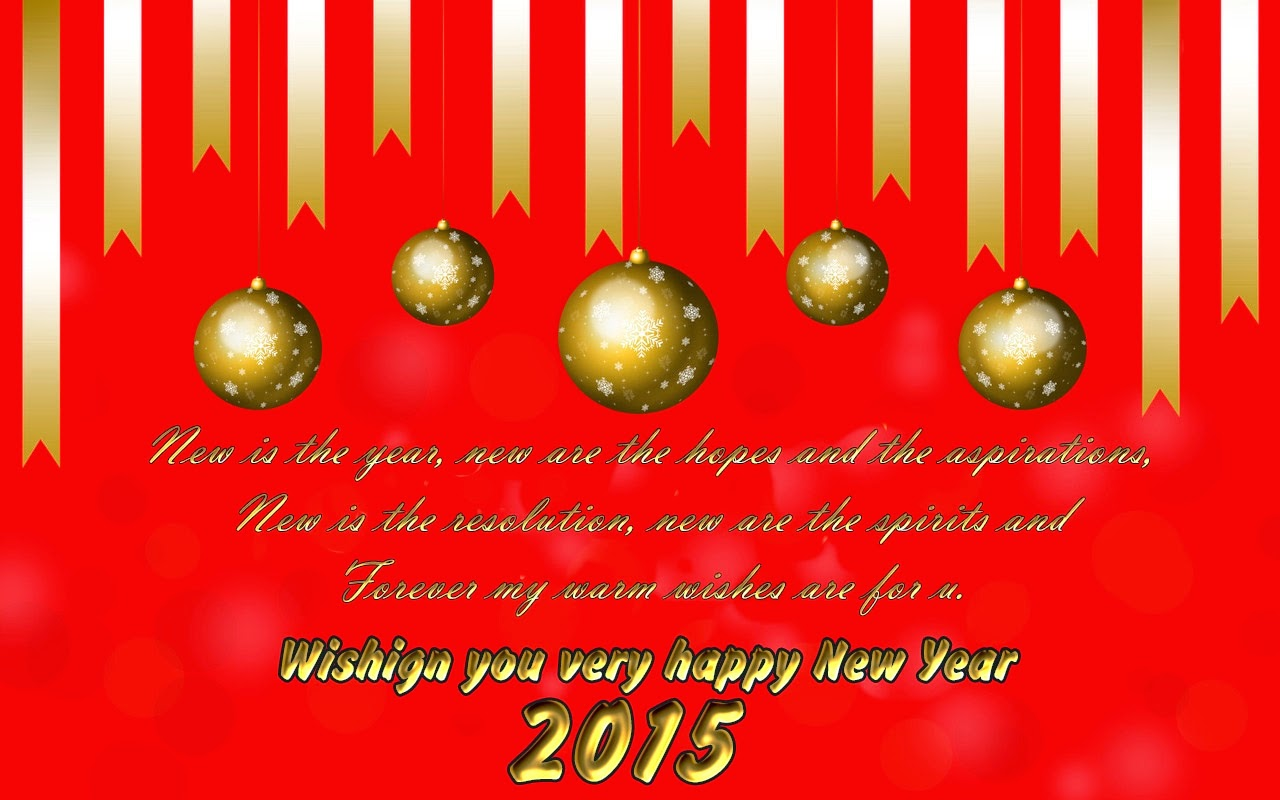 Top Happy New Year Wishes Holiday Cards 2015