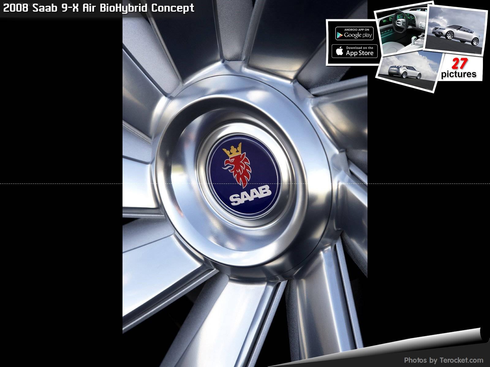 Hình ảnh xe ô tô Saab 9-X Air BioHybrid Concept 2008 & nội ngoại thất