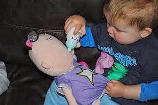 Boy with a Doll