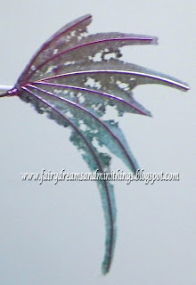 Fairy wing printable and tutorial. Property of Cassie's Creative Crafts