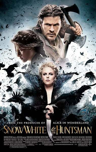 snow white and the huntsman, movie poster
