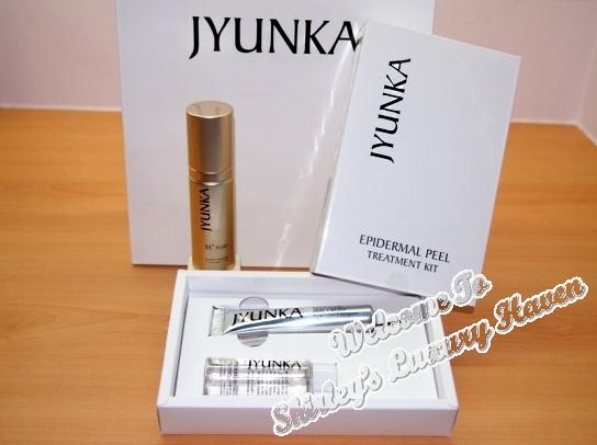 jyunka miracle fluid, epidermal peel treatment kit