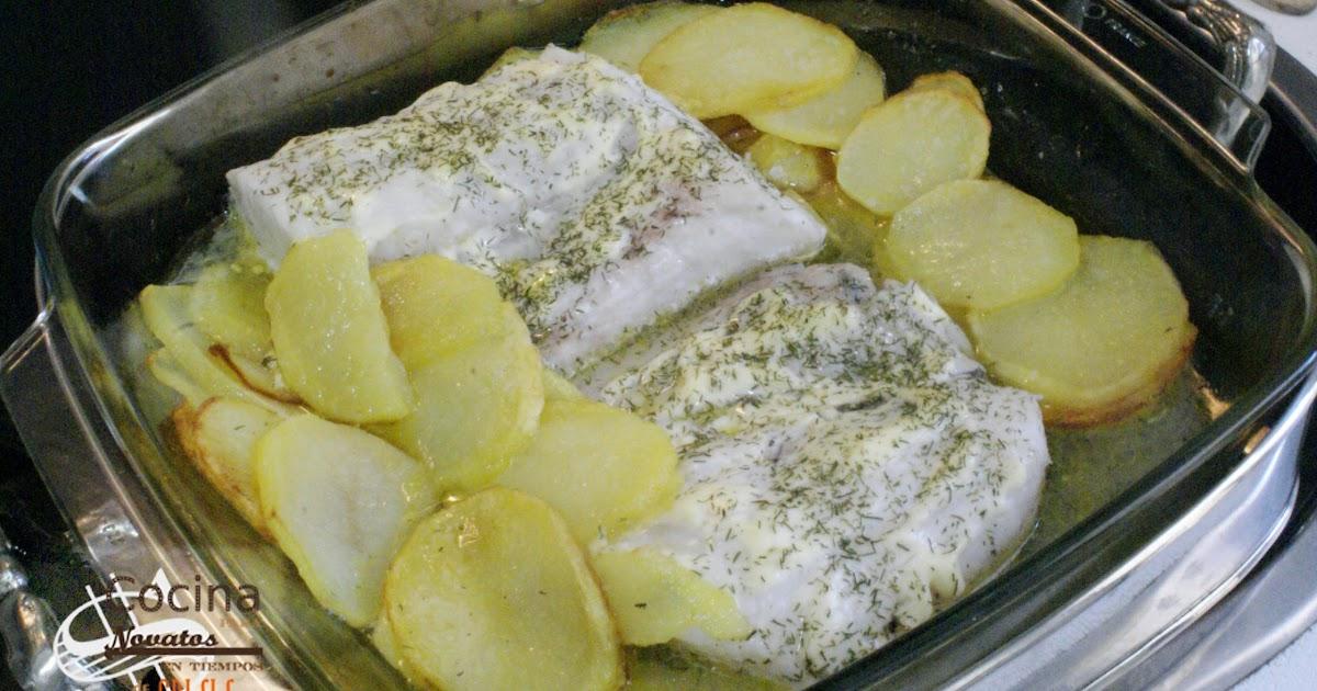 Cocina para novatos en tiempos de crisis pescadilla al horno con patatas - Cocina para novatos ...
