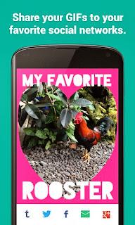 تطبيق مجانى للاندرويد لإنشاء صور متحركة Fixie GIF Camera APK 1.4 GIF