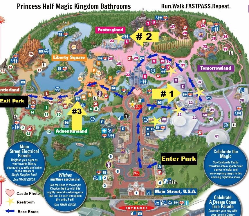 Map 2014 , Magic Kingdom Map 2013 , Disney World Magic Kingdom Map ...