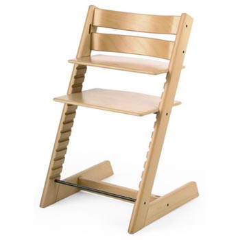 Copy cat chic stokke tripp trapp high chair for Chaise tripp trapp