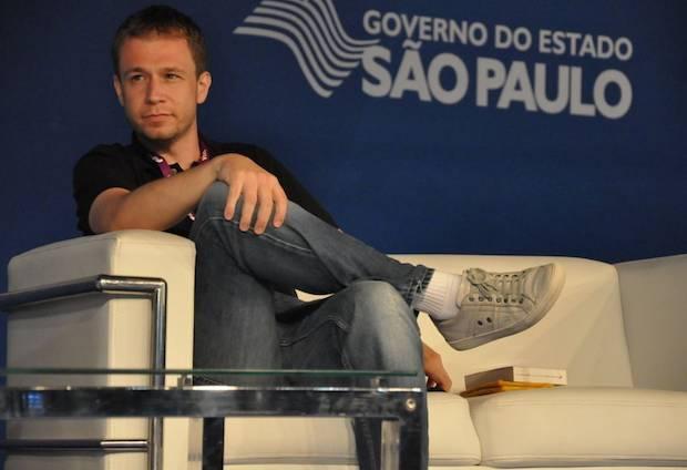 Tiago Leifert na Campus Party Brasil 2013