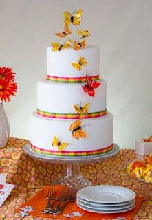 Tortas de Boda con Mariposas, parte 4