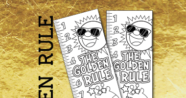 photograph regarding Golden Rule Printable named Imaginative Sunday Higher education Crafts: Golden Rule - Totally free Printable