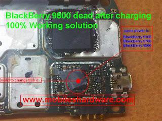BlackBerry Torch 9800 Dead