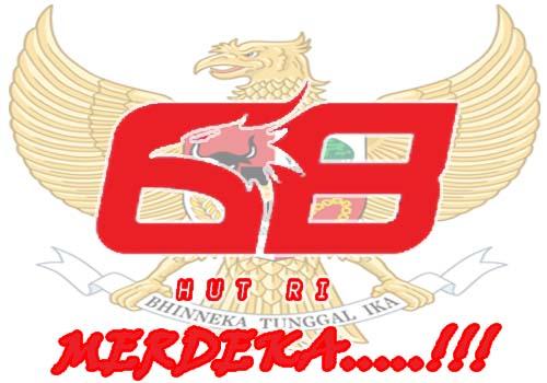 Logo HUT RI ke 68