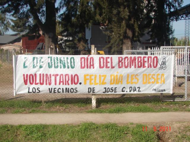 Lw2dcj Hugo Activamos El Cuartel De Bomberos