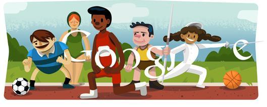 Google 2012 London Olympics Doodle