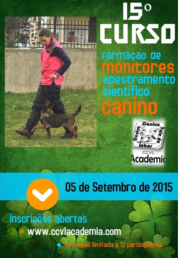15º Curso de Formação de Monitores de Adestramento Científico Canino