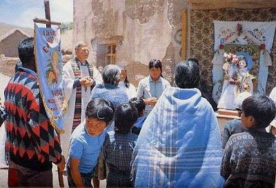 Altar für die Prozession