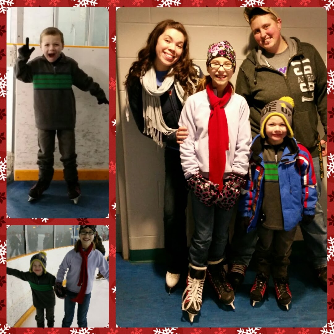 Tips on kids & Ice Skating 1/14/2015