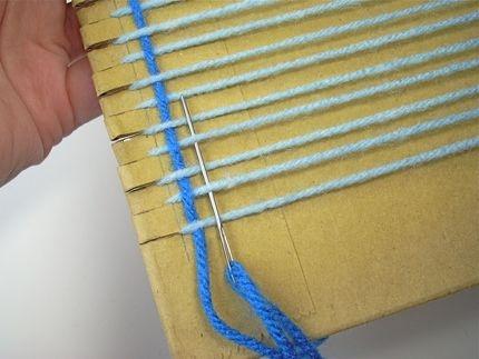 Sensitividad reciclando telas y lanas - Como hacer alfombras con trapillo ...