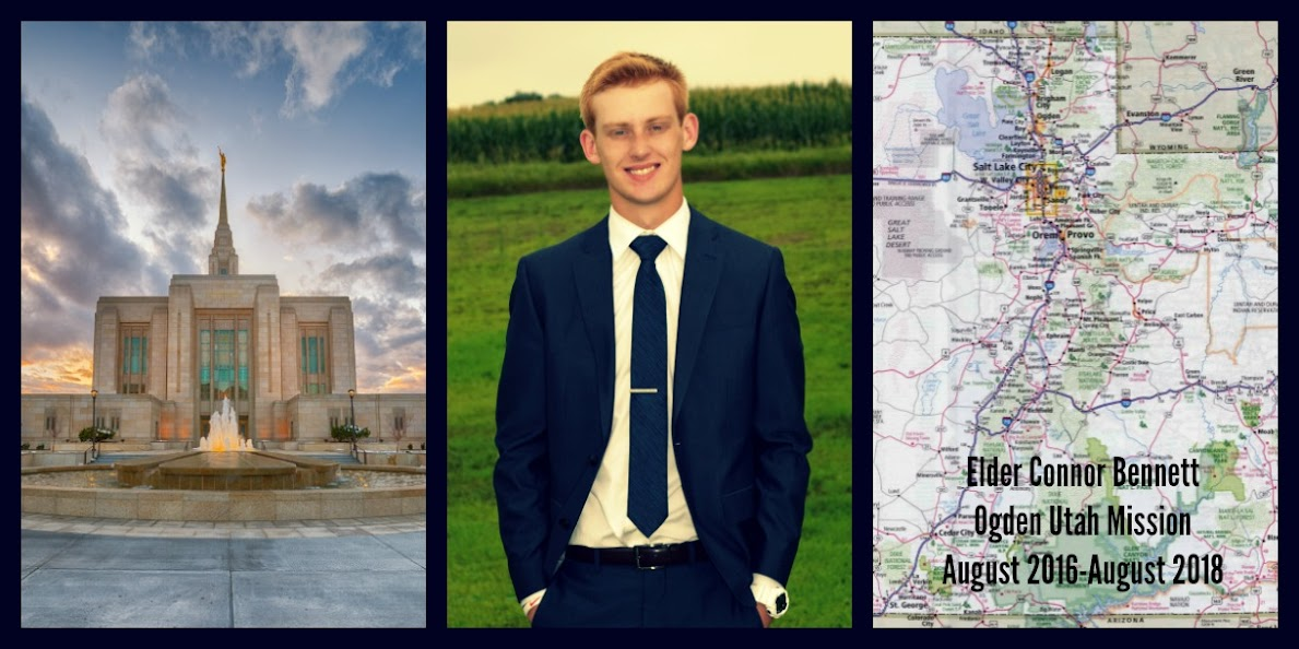 Elder Connor Bennett's Odgen Mission Blog