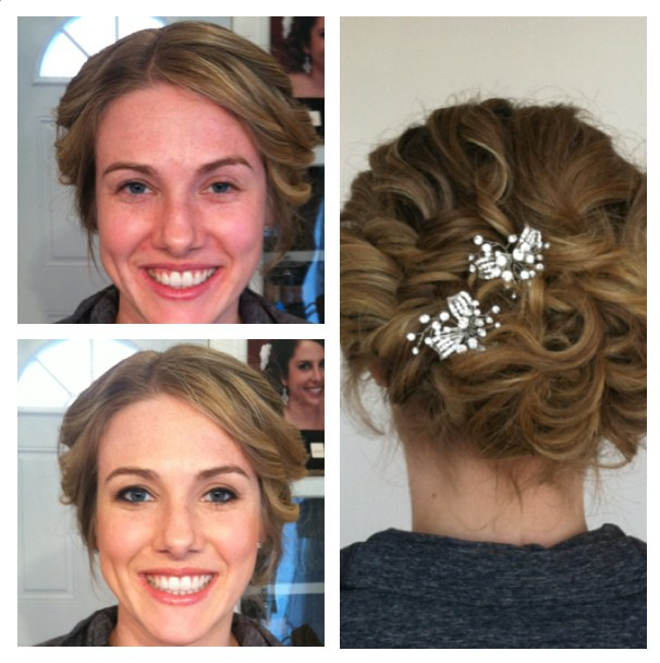 Airbrush Bridal Makeup Before And After : Airbrush Makeup, Bridal Hair Styles, On Location Seattle ...