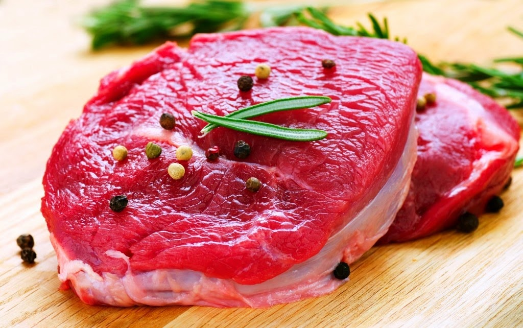 Swap out most of your red meat and get your protein from skinless chicken and turkey, fish, beans, nuts and other plants