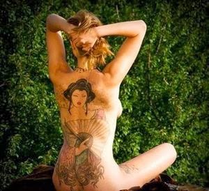 Sexy Tattoos for Sexy Women