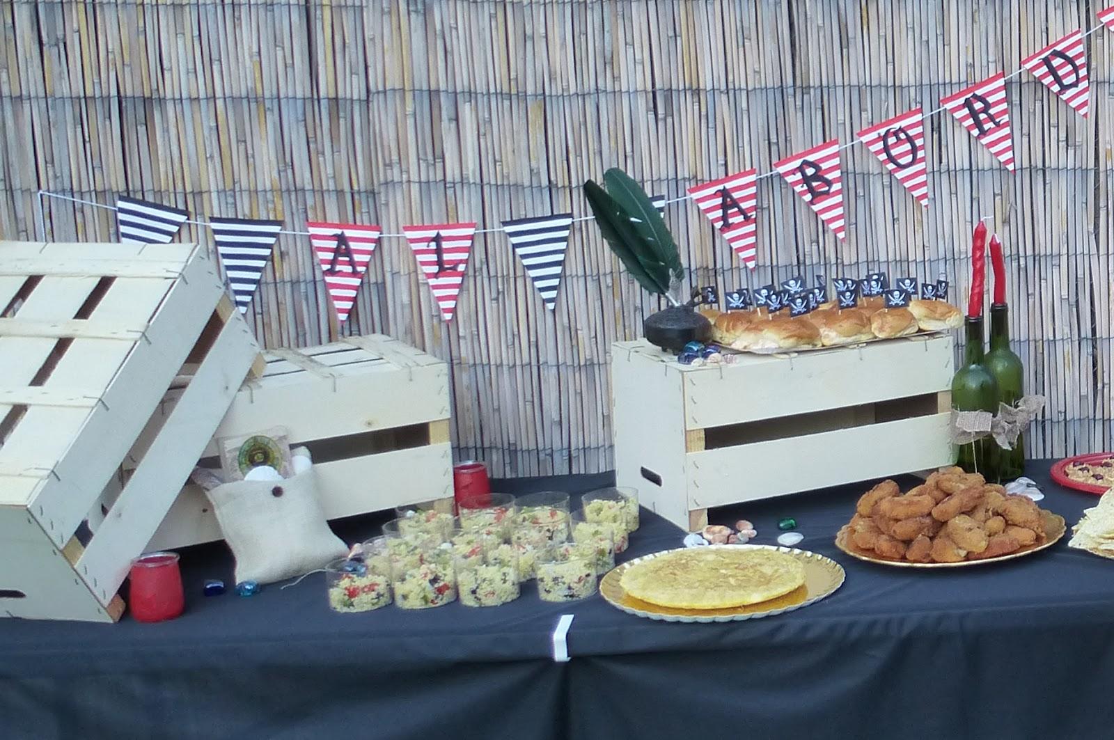 Organ zate t mismo reciclando 2 decoraciones para fiesta for Mesa con cajas de fruta
