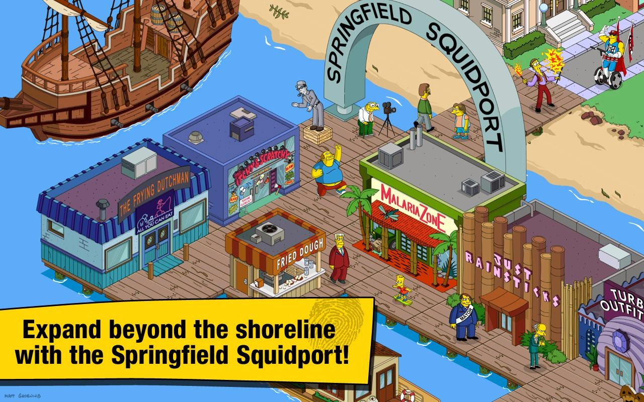 The Simpsons Tapped Out v4.13.0 MOD APK